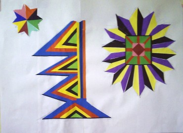 Coloured Paper Cut-outs
