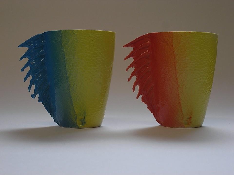 ceramic fish cup